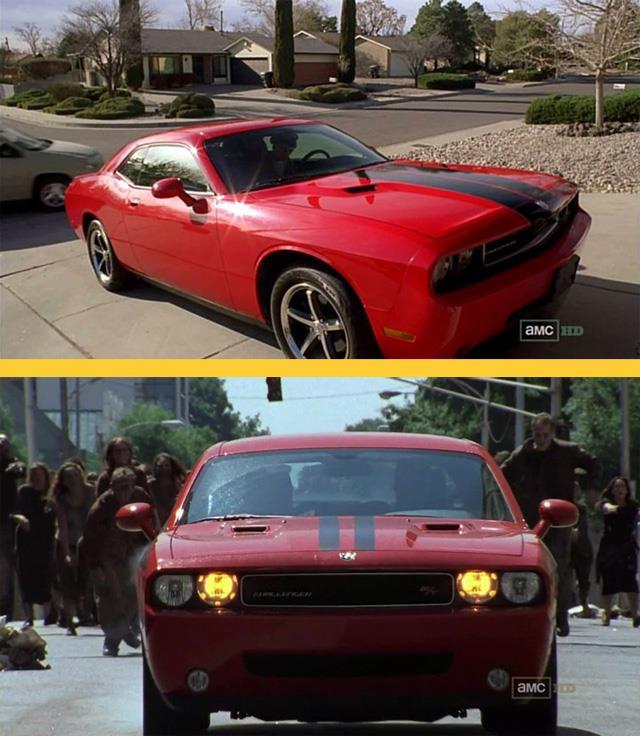 La Dodga rossa in Breaking Bad e in The Walking Dead