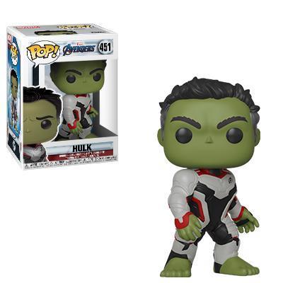 Hulk con la tuta bianca dal film Avengers: Endgame