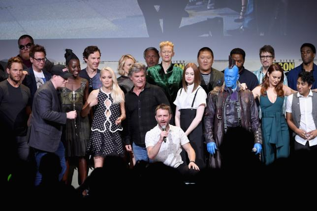 I protagonisti dei film Marvel a SDCC 2016