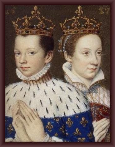 Elisabetta I e Maria Stuarda in un ritratto