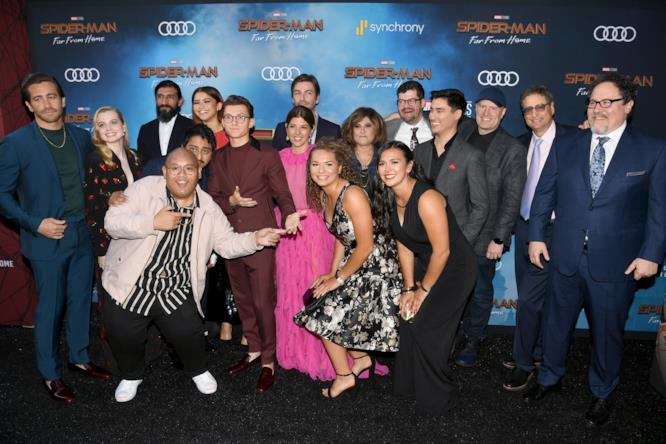 Buona parte della Marvel Family