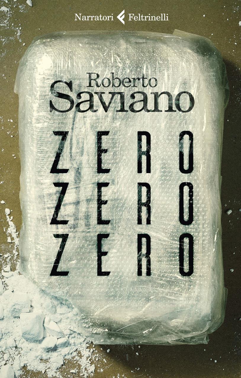 La copertina del romanzo di Saviano ZeroZeroZero