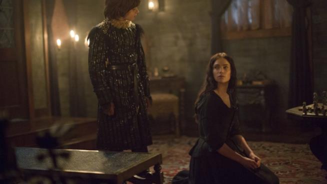 Mary Sibley si sottomette al piccolo John