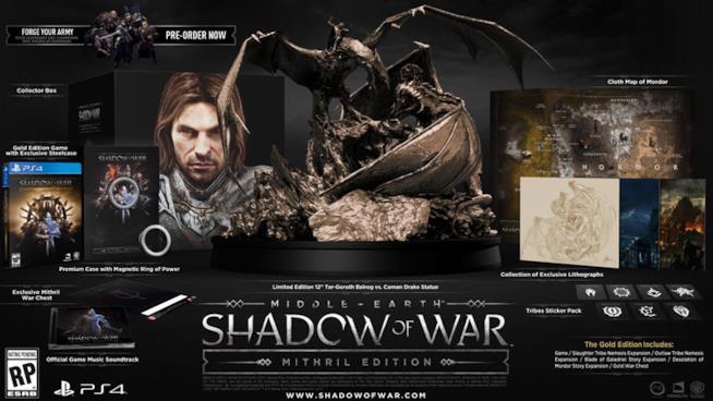 La Terra di Mezzo: L'Ombra della Guerra per PS4, Xbox One e PC