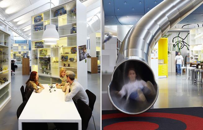 Interni degli uffici Lego a Billund