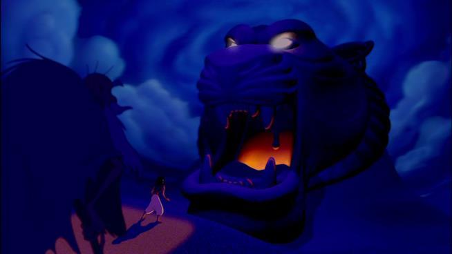 Aladdin nella Caverna delle Meraviglie