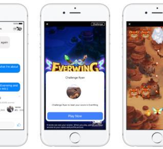 Alcuni videogiochi disponibili su Facebook Messenger