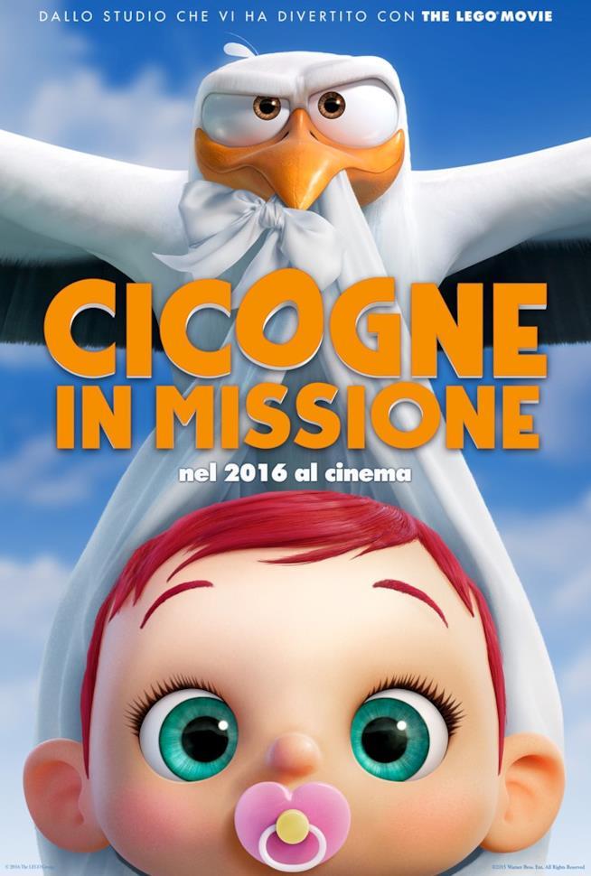Il poster del film Cicogne In Missione
