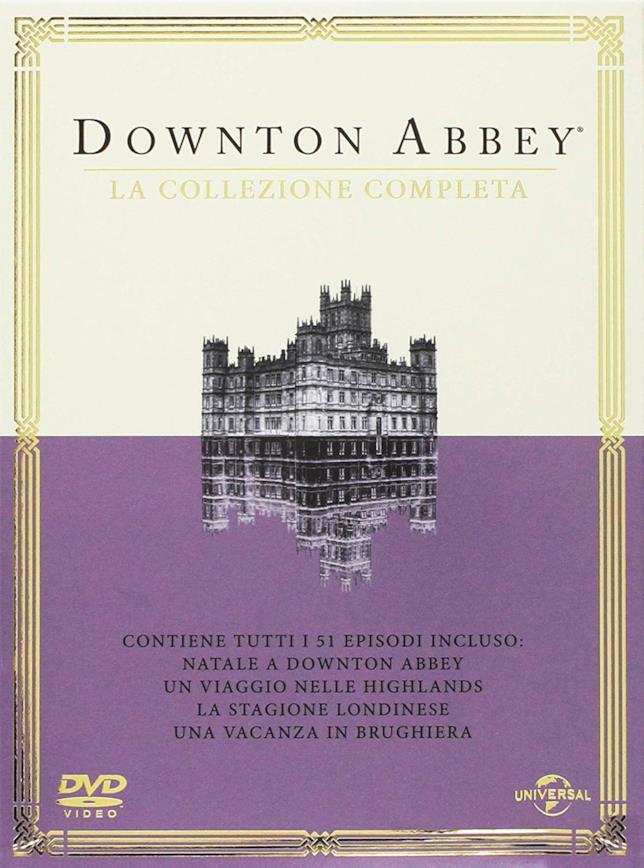 Le 6 stagioni della serie TV Downton Abbey in un cofanetto DVD