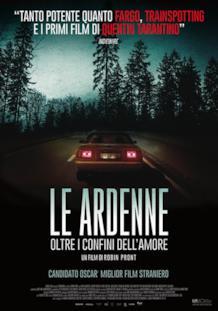 La locandina italiana del film Le Ardenne - Oltre i confini dell'amore