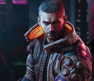 Un concept art di V, il protagonista di Cyberpunk 2077