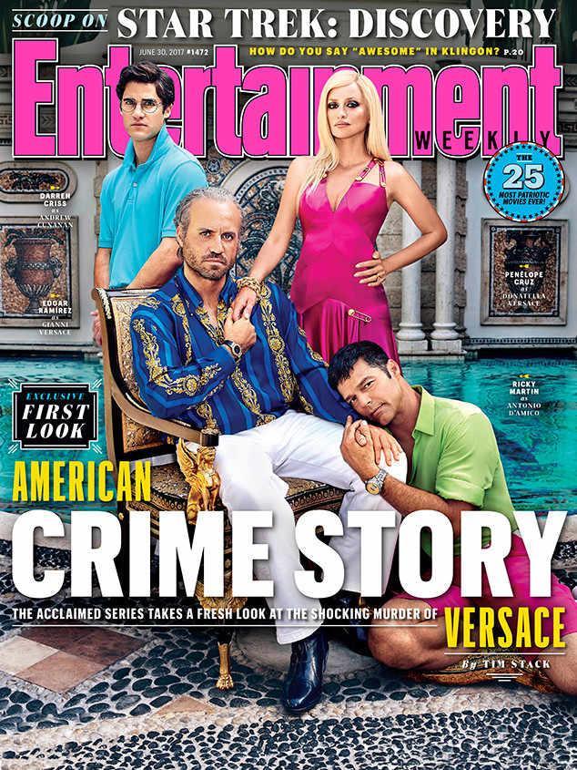 Foto esclusiva di Entertainment Weekly della seconda stagione di American Crime Story dedicata all'omicidio Versace