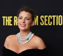 Blake Lively alla prima di The Rhythm Section