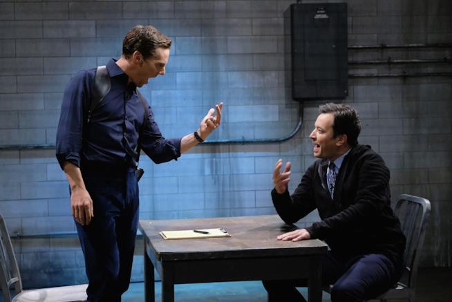 Lo sketch di Jimmy Fallon e Benedict Cumberbatch