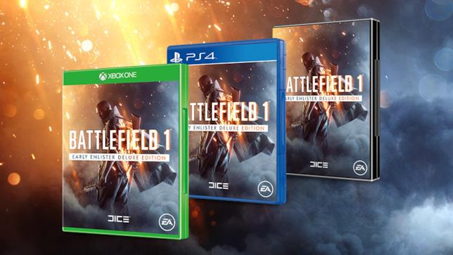 Battlefield 1 per PS4, Xbox One e PC