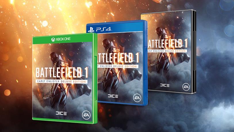 Battlefield 1 per PS4, Xbox One e PC