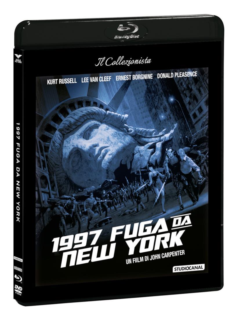 Packshot di 1997: Fuga da New York in versione Il Collezionista