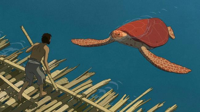 Una scena de La Tartaruga Rossa
