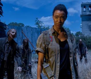 Sasha nella sesta stagione di The Walking Dead