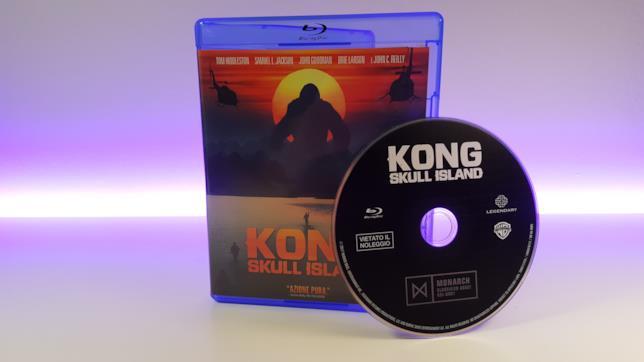 Una nostra foto del Blu-ray di Kong: Skull Island