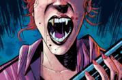 Particolare della cover di Redneck 3, con la vampira Lucy