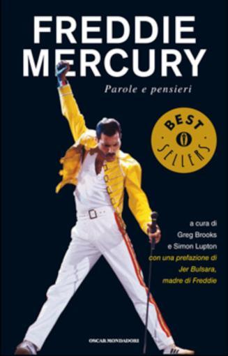 La copertina del libro Freddie Mercury. Pensieri e parole