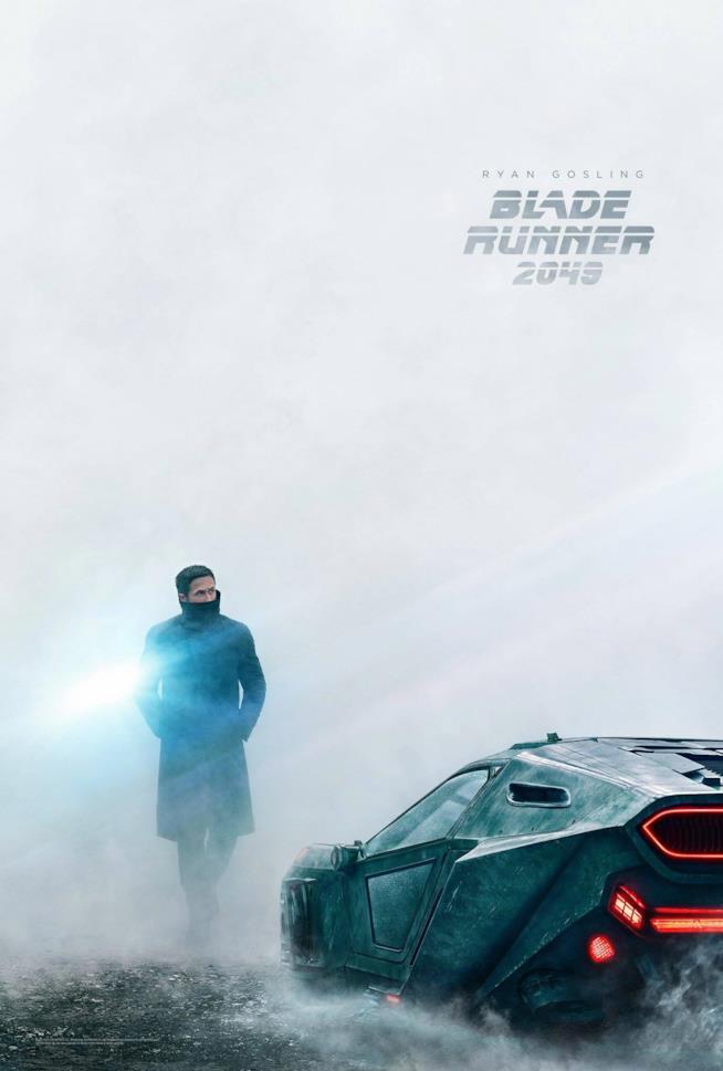 Poster di Ryan Gosling in Blade Runner 2049
