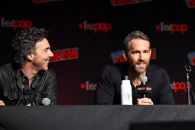 Ryan Reynolds e Shawn Levy presentano Free Guy al  NYCC