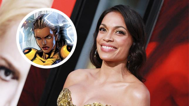 Rosario Dawson si prepara a interpretare Cecilia Reyes in New Mutants