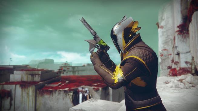 Uno Stregone pronto a combattere in Destiny 2