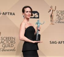 Sarah Paulson alle premiazioni degli Screen Actor Guild
