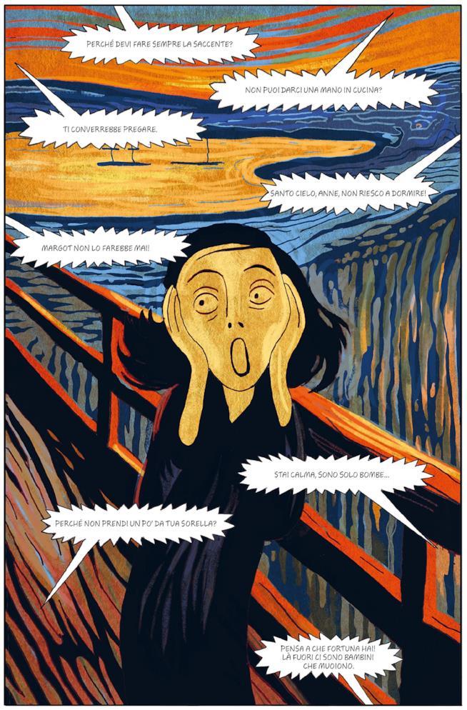Anne in versione Urlo di Munch