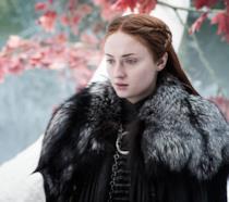 Sansa Stark in Game of Thrones interpretata da Sophie Turner