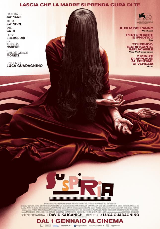 Poster italiano di Suspiria (2018)