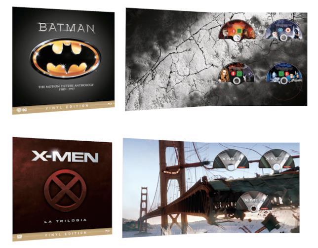 Le saghe di Batman e degli X-Men nel formato Vinyl