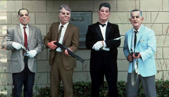 La band di rapinatori mascherati di Point Break