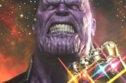 Thanos in un artwork di Avengers: Infinity War