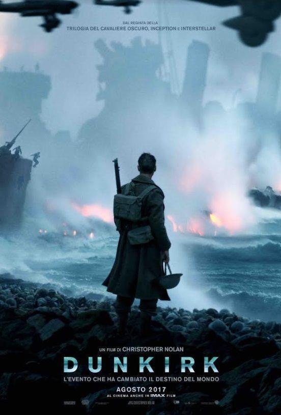 La locandina italiana di Dunkirk, il nuovo film di Christopher Nolan