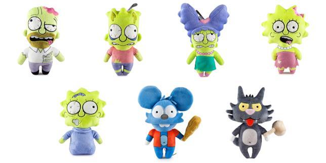 Kidrobot, Simpson peluche