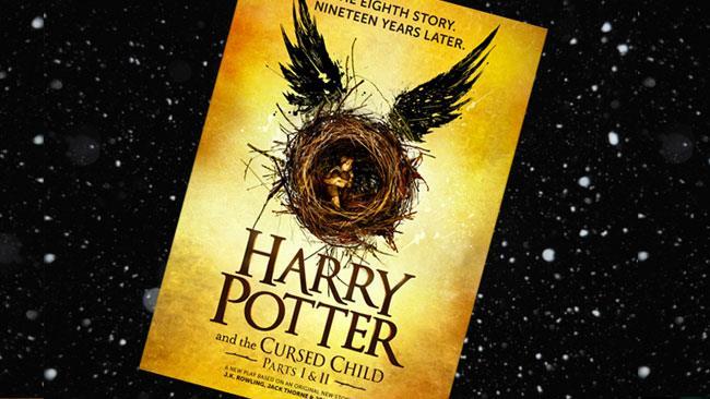 La copertina provvisoria di Harry Potter 8