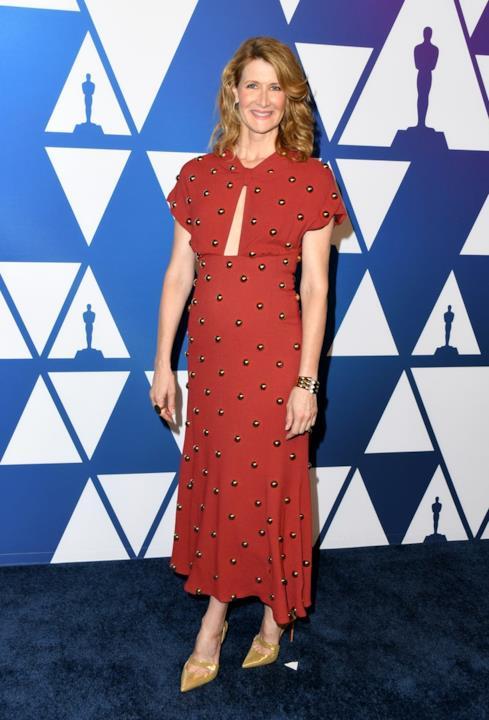 Laura Dern all'Oscar Luncheon 2019
