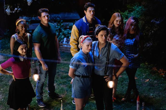 I ragazzi di Riverdale in una immagine della stagione 4