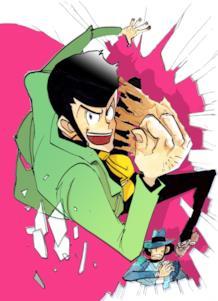 Lupin III e Jigen disegnati da Togekinoko
