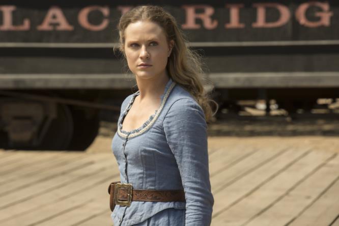 Dolores nel finale di stagione di Westworld