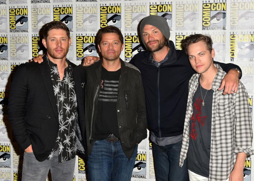 I protagonisti di Supernatural all'ultimo Comicon