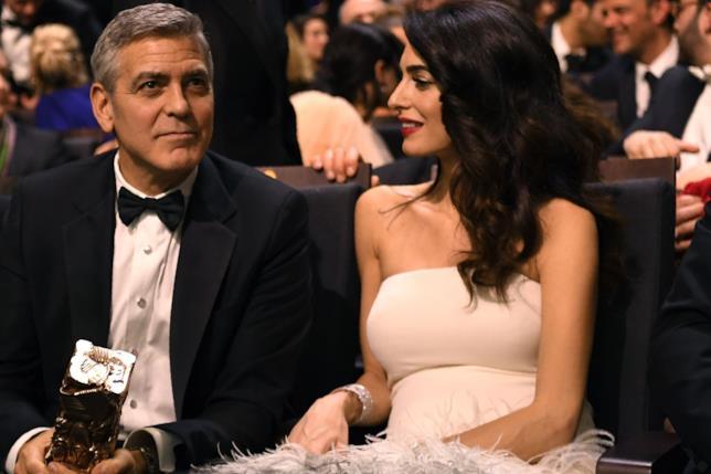 George Clooney insieme ad Amal