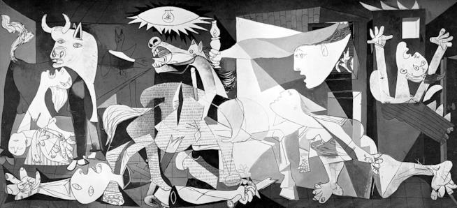 Il quadro Guernica
