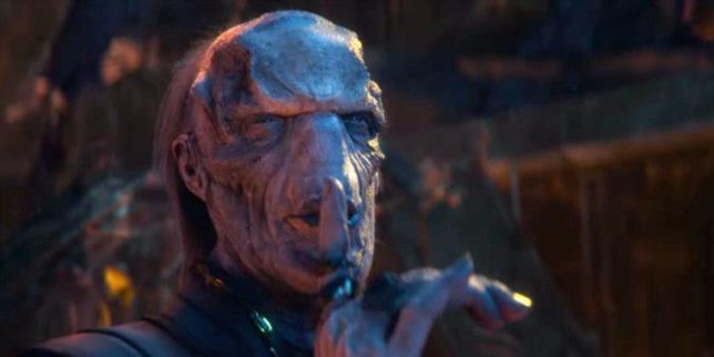 Ebony Maw in Avengers: Infinity War