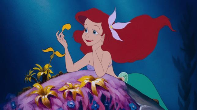 La Sirenetta in una scena del film d'animazione Disney