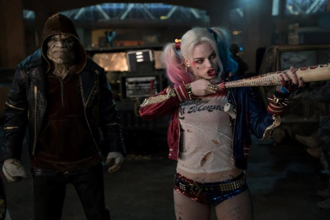 Killer Croc e Harley Quinn, due dei protagonisti di Suicide Squad